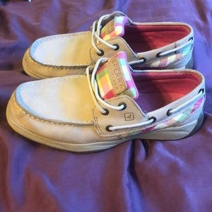 Sperry Top-Sider girls 4M Boat Shoes